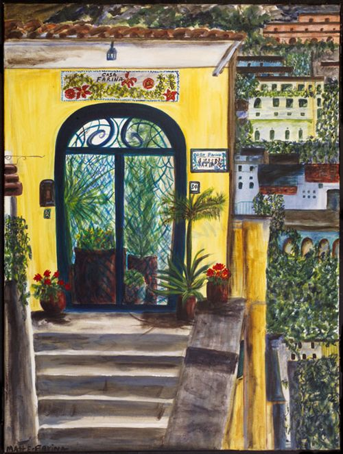 Doorway to Positano